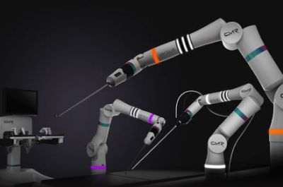 Versius is the world's smallest robot arm for keyhole surgery