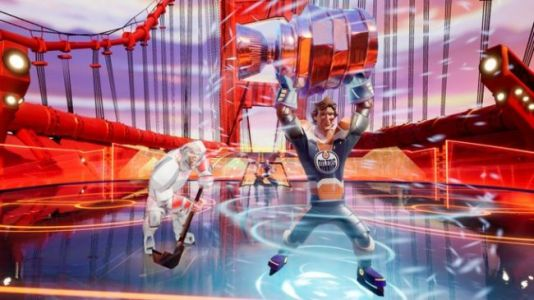 Hands-On: 'Ultimate Rivals' Is the 'Smash Bros.' of Arcade Sports