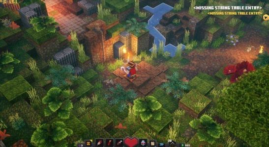 A new Minecraft Dungeons DLC leak offers a glimpse at jungle and ice levels