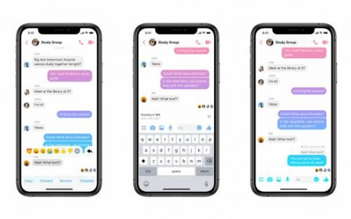 Facebook Messenger gets quoted replies to keep chats organized