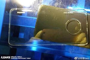 Huawei Mate 30 Pro spotted in public sporting a waterfall display