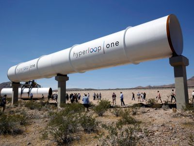 Here's how Hyperloop One's massive, high-speed transport system could work