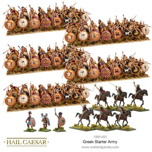 New Starter Army Sets Available For Hail Caesar