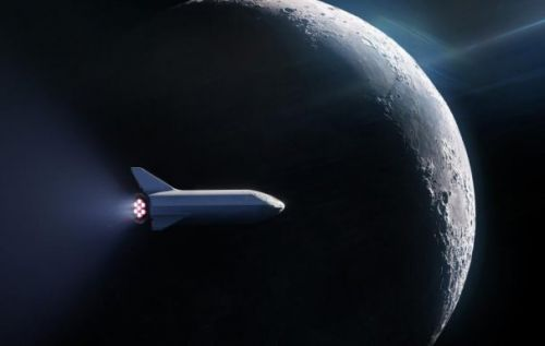 SpaceX will send Japanese billionaire and guests to the Moon