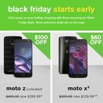Motorola's Black Friday 2017 deals are here