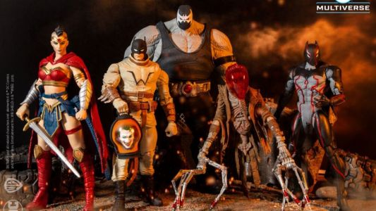"New ""Last Knight on Earth"" DC Action Figure Set"