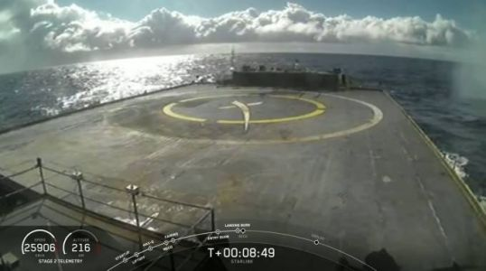 SpaceX's Falcon 9 booster landing didn't go according to plan