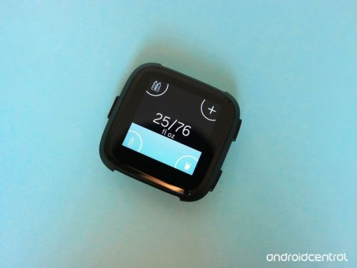 How to log your water intake on Fitbit Versa and Ionic