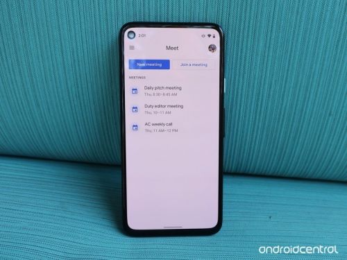 Google rolls out a new data saving mode in Meet's Android app
