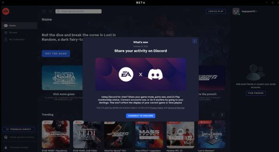 The EA App Now Links With Discord To Show Detailed Gameplay Info