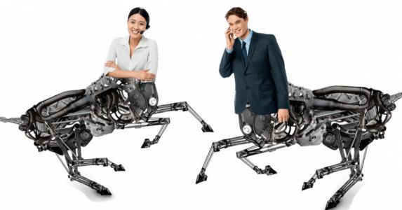 AI will turn the workforce into hyper productive business centaurs