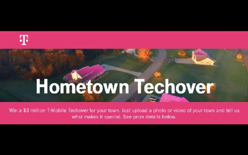 T-Mobile looking for one town to win over $3 million