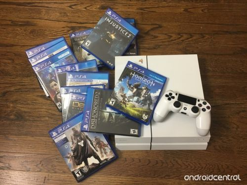 How to organize your games on the PlayStation 4
