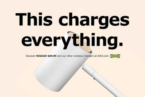 I wonder who these new Ikea wireless charging ads are aimed at