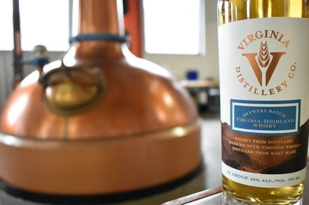 This Virginia distillery just released a beer-finished whisky
