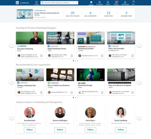 LinkedIn Learning now includes 3rd party content and Q&A interactive features