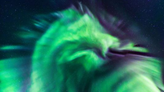 Mysterious Glowing 'Dragon' Aurora Spotted Over Iceland