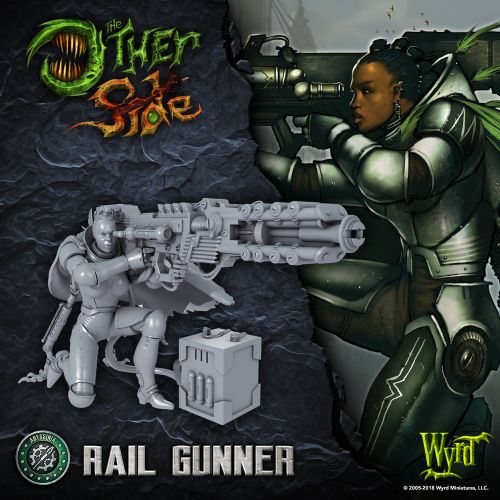 Wyrd Previews Rail Gunner For The Other Side