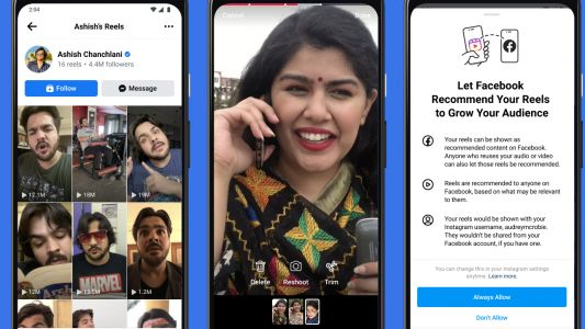 Instagram to integrate 'Reels' into Facebook in India