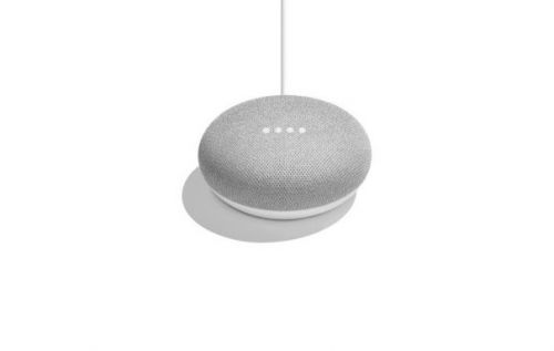 Google Home Mini - the same, but smaller