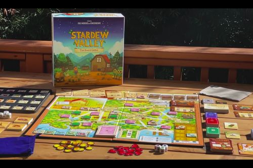 Stardew Valley Board Game Announced, Available to Order Now