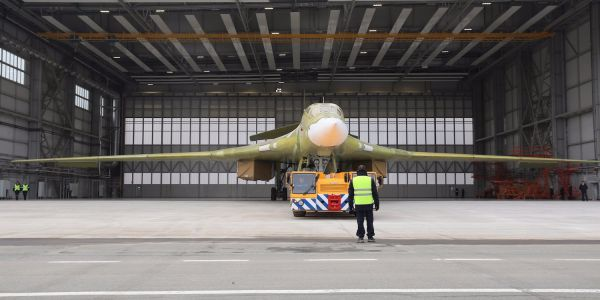 8 photos of the Tu-160M2, the new long-range super bomber that Russia just unveiled