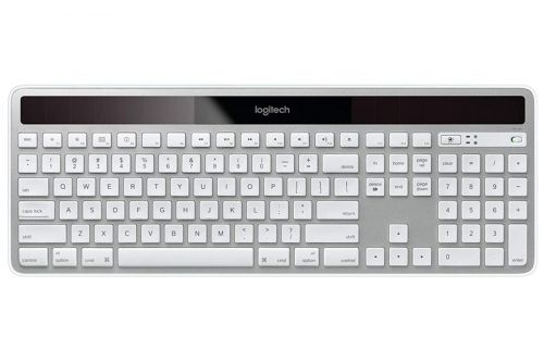 Save money and batteries with $20 off the Logitech K750 wireless light-charging keyboard