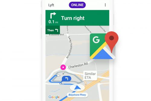 Lyft drivers won't have to switch apps to use Google Maps