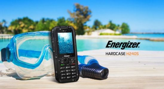 Energizer® HARDCASE H240S - The World's 1st 4G Rugged Bar Phone