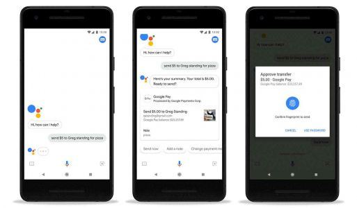 Google Assistant can now send or request money