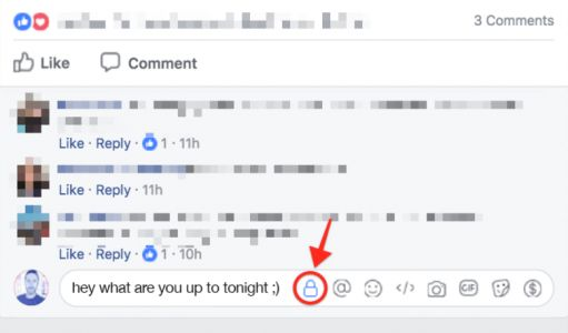 Facebook Rolls Out Experimental Private Comments To Some Users