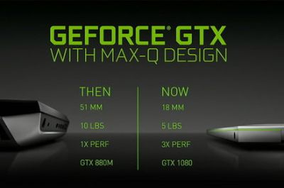 Nvidia says goodbye to heavyweight gaming notebooks with Max-Q initiative