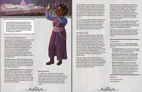 FRIENDS, FOES AND OTHER FINE FOLKS Gives Your D&D Campaign Even More Character