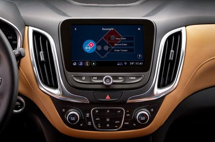 Chevrolet's in-car pizza ordering app is the start of an ecommerce revolution