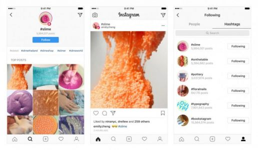 Instagram now lets you follow hashtags instead of people