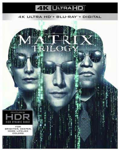 Revised Release Date for 'The Matrix Trilogy' on 4K Ultra HD