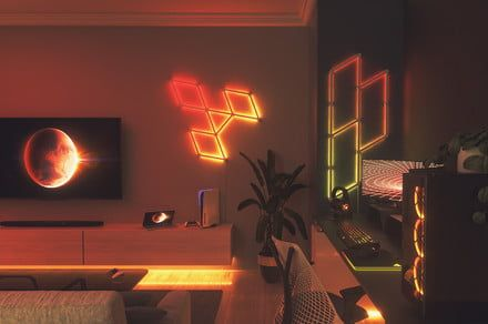 Nanoleaf Lines ditches the panels for a modular wall-mounted light bar design