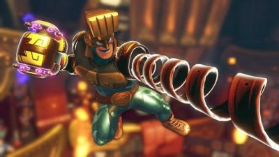 Arms Getting First Free DLC Character, Max Brass, Next Month