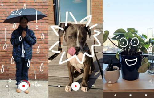 Just a Line lets you draw on the real world with your phone