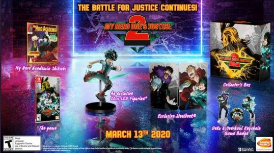 My Hero One's Justice 2: Collector's Edition goes up for preorder