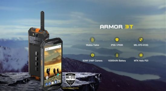 Big battery rugged phone Ulefone Armor 3 series officially released