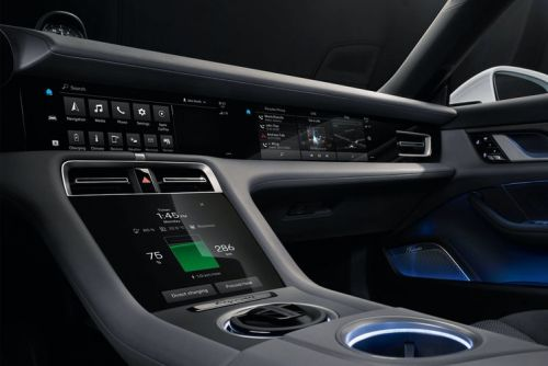 All-electric Porsche Taycan features a fabulous fully digital dashboard