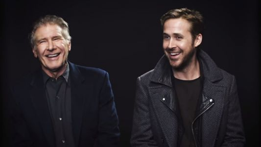 Harrison Ford And Ryan Gosling Are Straight Up Magical In This BLADE RUNNER 2049 Interview