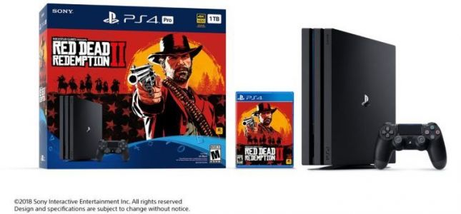 Red Dead Redemption 2 PS4 Pro Bundle Release Date And Pre-Order Guide