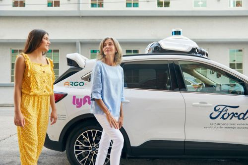 Ford's self-driving cars will be available on Lyft's platform in Miami and Austin