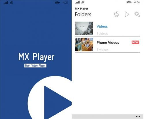 MX Player for Android updated with new features. Changelog inside