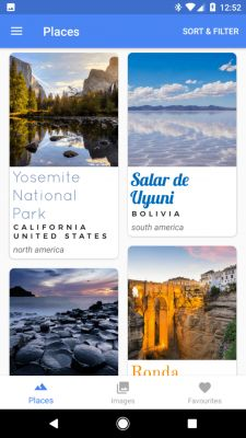 Sponsored App Review: Hello World - Travel Discovery & Travel Wallpapers