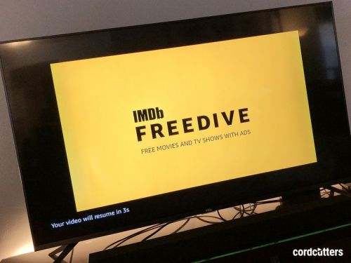 IMDB 'Freedive' brings ad-supported movies and shows via Amazon