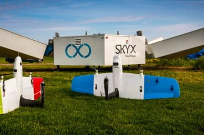 SkyX plans remote charging stations that will give drones near-indefinite range