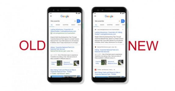 Google Search has a new design - see if you can spot the difference